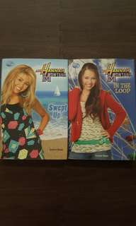 Hannah Montana Books (P70 each)
