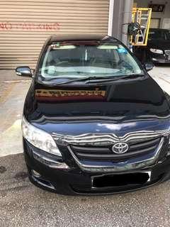 Toyota Altis. Grab ready, low price. WHATSAPP JASMINE 81448811