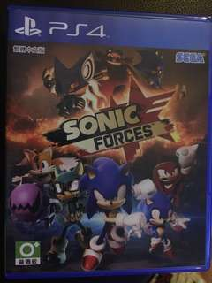 PS4 SONIC FORCES 超音鼠 武力 (中文版)