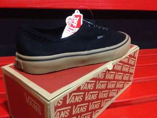 Vans authentic blackgum