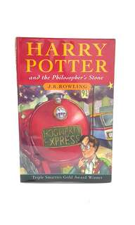 Harry Potter and the Philosopher's Stone Book + free DVD