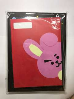 READY STOCK BT21 official -  School Note Book Cooky
