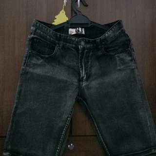 Men's jeans Short Pants Slim Fit
