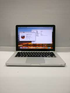 "[i7 8GB] Apple Macbook Pro 8,1 13"" 2011 Late A1278 i7 8GB Ram 750GB HDD (With Charger/Bag/Mouse)"