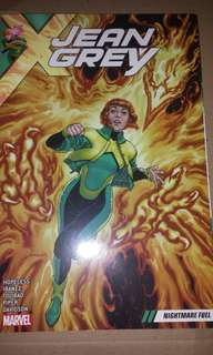 Jean Grey volume 1 (Nightmare fuel)