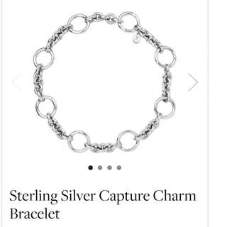Links of London - Sterling Silver Capture Charm bracelet **Ending in 10 hours **