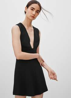 Wilfred Aritzia Montbrun Dress size 0 black