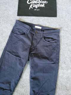 uniqlo long pants denim