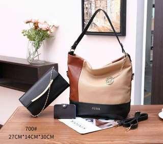 Handbag Guess 2 IN 1  700#