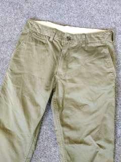 uniqlo flat front chino pants
