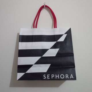 Sephora Paperbag SMALL preloved LIKE NEW