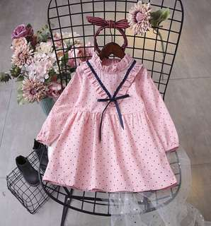 Girls treasure temperament Princess fan dress