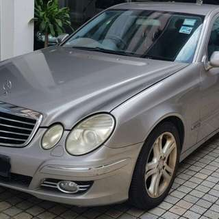 MERCEDES E200 ADVARGADE W211 2008