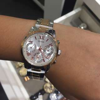 SALE! New Auth Guess Two-Tone Watch