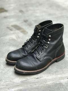 Sepatu Boots redwing 8114 made usa iron rangger