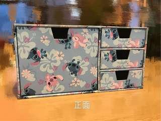 Disney Stitch Hard Paper Storage Box
