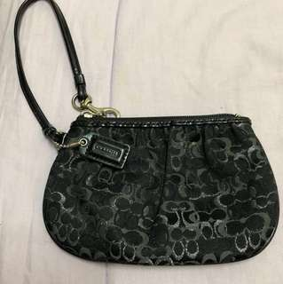 Coach wristlet - PRICE REVISED!!!