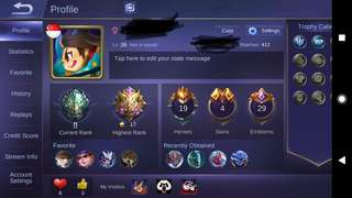 Mobile Legend Acc (Android)