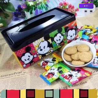 Mickey Mouse Tin Box Biscuits
