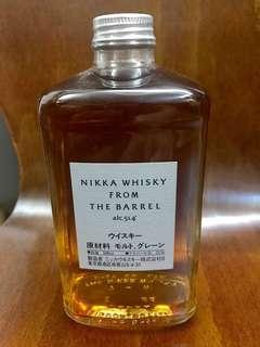 Nikka from the barrel 威士忌