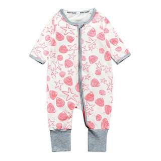 Baby Kids Boys Girls Star Shell Sleepsuit (Newborn - 2years)