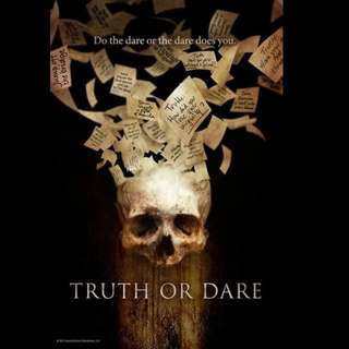 [Rent-A-Movie] TRUTH OR DARE (2017)