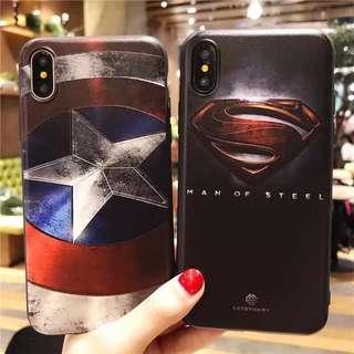 🦄VIVO V5 Lite Y51 Captain America Superman Phone Case