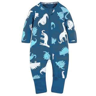 Baby Kids Boys Girls Dinosaur Sleepsuit (Newborn - 2years)