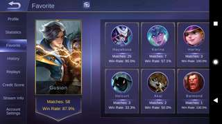 Mobile Legends Acc (Android)