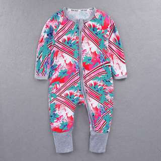 Baby Kids Boys Girls Fuschia Sleepsuit (Newborn - 2years)
