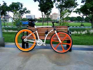 Limited Edition,  Aussie fixie,  full bike