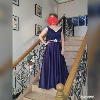 Duchess Elegant Midnight blue gown