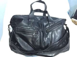 Leather Bag imported Travel/weekender with sling
