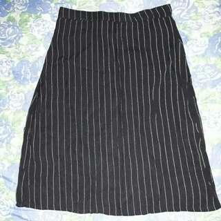 90's Highwaist striped skirt