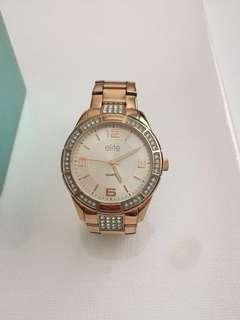 Rose gold elite watch
