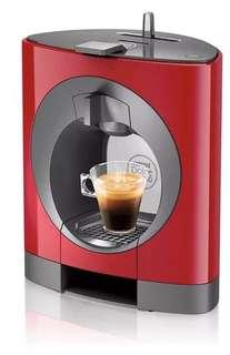 Breville Nescafe Dolce Gusto Oblo Capsule Coffee Tea Cold Machine Maker Red