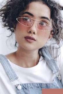 Rose Gold Fashion Glasses
