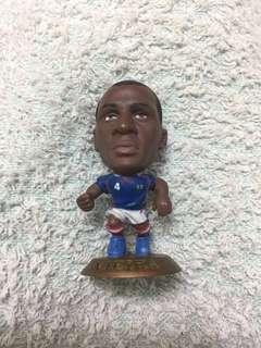 法國 韋拉 世界盃國家隊足球經典球星公仔 World Cup Legend France Vieira Corinthian