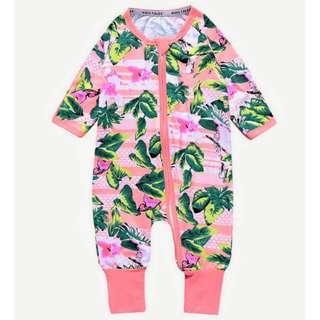 Baby Kids Boys Girls Grey Orchid Sleepsuit (Newborn - 2years)