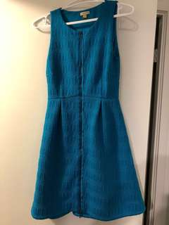 Price drop! Anthropologie blue dress