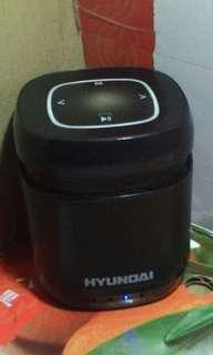HYUNDAI現代👍無線藍牙行動喇叭(i70pro ) - 黑-