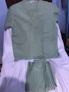 Scrub Suit Size (XS) Terno with Pants