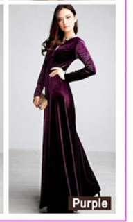 Exclusive Evening Wear Gown or Hari Raya Dress