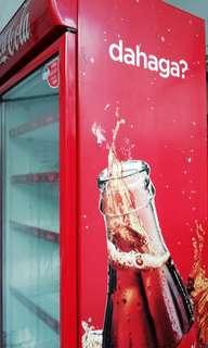 Coca cola chilling refrigerator