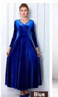Hari Raya Muslimah Or Evening Wear Long Dress