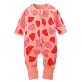 Baby Kids Boys Girls Watermelon Sleepsuit (Newborn - 2years)