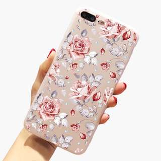 🦄 Rose Floral iPhone Case 🦄 iPhone 6/6s 6s+, 7, 7+, 8, 8+, X
