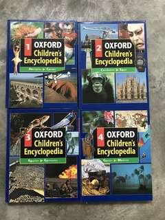 Oxford Children's Encyclopedia - 9 books