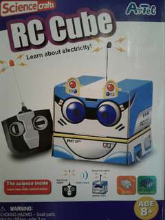 Science Crafts RC Cube - Learn about electricity❗
