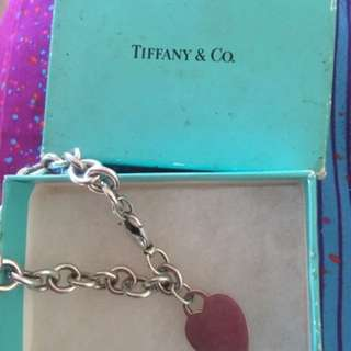 Tiffany & co. ❤️ tag bracelet